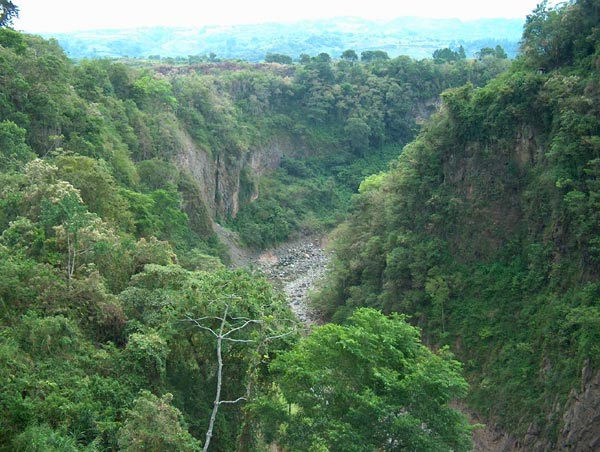Costa Rica Ravine